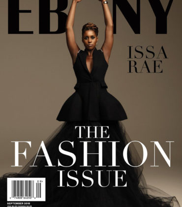 Issa Rae Covers EBONY Magazine's September Issue.