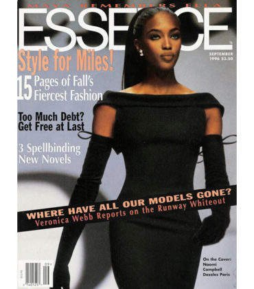 Naomi Campbell Will Be Honored by ESSENCE Magazine During New York Fashion Week.