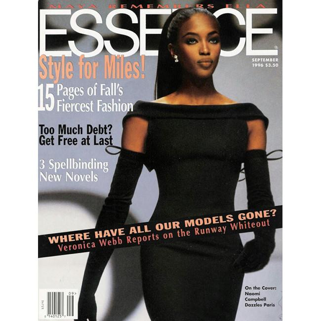 Naomi Campbell Essence Magazine