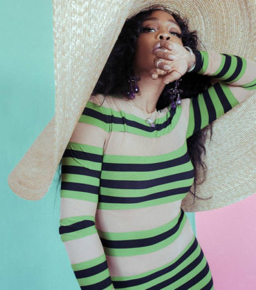 Editorials. SZA for British Vogue.  Images by Elizabeth Wirija.