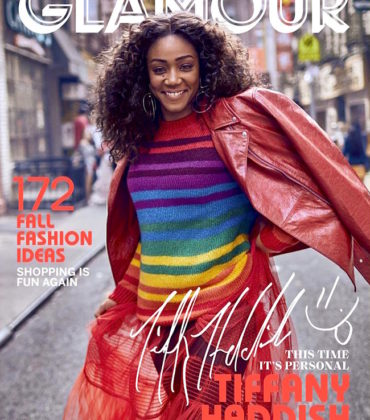 Tiffany Haddish Covers Glamour September 2018.  Images by Billy Kidd.