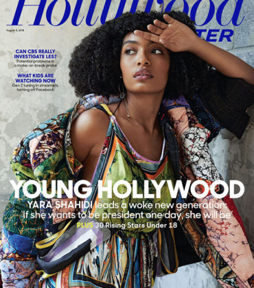 Yara Shahidi Covers The Hollywood Reporter.  Images by Sami Drasin.