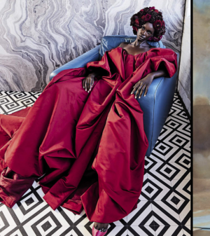 Editorials.  Subah Koj. Adut Akech. Akiima. Duckie Thot. Vogue Italia September 2018.  Images by Sølve Sundsbø.