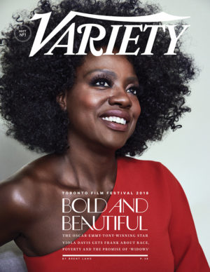 Viola Davis Covers Variety Magazine.  Images by Williams + Hirakawa.
