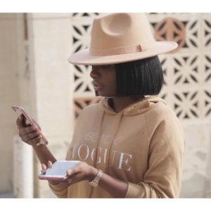 Vogue Reportedly Sues Indie Designer Behind 'Black Vogue' Sweatshirt.