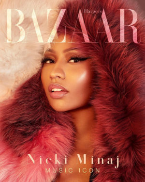 Nicki Minaj Covers Harper's Bazaar Vietnam.  Images by Greg Swales.