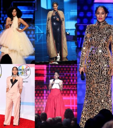 Tracee Ellis Ross Wore a Black Designer For Every Single One of Her AMA Looks.