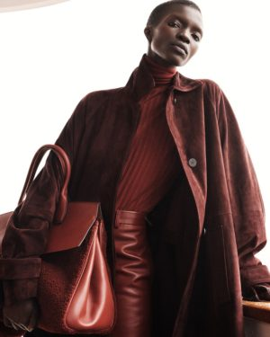 Editorials. Achok Majak.  ELLE October 2018.  Images by Tom Schirmacher.