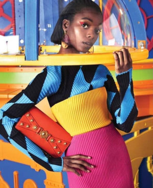 Editorials. Olivia Anakwe. Harper's Bazaar US December 2018.  Images by Victor Demarchelier.