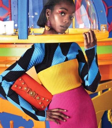 Editorials. Olivia Anakwe. Harper's Bazaar US December 2018.  Images by Victor Demarchelier.