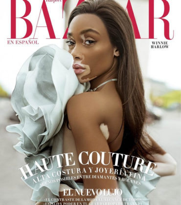 Editorials. Winnie Harlow. Harper's Bazaar Mexico and Latin America November 2018.  Images by Jacques Burga.