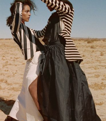 Editorials. Elibeidy Martinez & Luisana Gonzalez. Porter Magazine #30.  Images by Yelena Yemchuk.