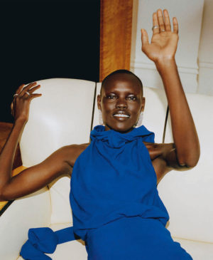 Editorials. Grace Bol.  Porter Magazine #30.  Images by Mehdi Lacoste.