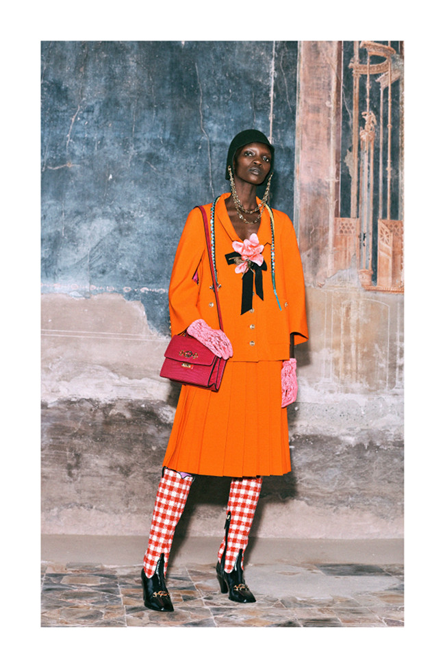 Black Fashion Models, Gucci Pre-Fall 2019