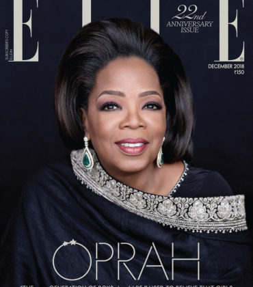 Oprah Covers ELLE India.  Images by Mark Seliger.
