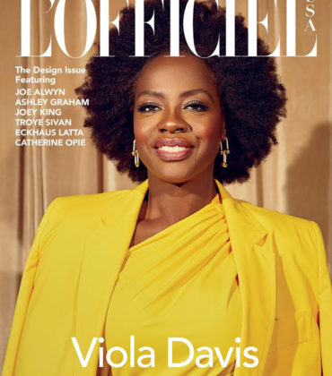 Viola Davis Covers L'Officiel.  Images by Danielle Levitt.