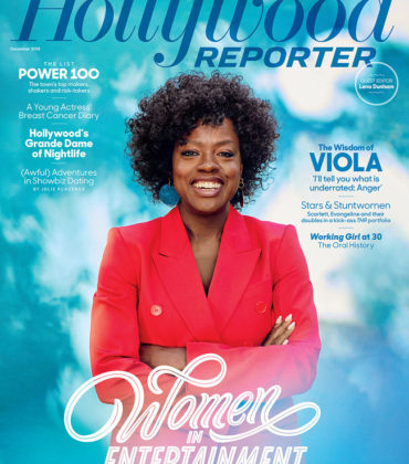 Viola Davis Covers The Hollywood Reporter 'Women in Entertainment' Special Issue.
