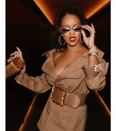 Rihanna is Reportedly Launching a Luxury Fashion Line.