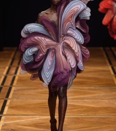 On the Runway.  Iris van Herpen. Spring 2019 Couture.