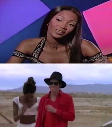 "Watch This.  Naomi Campbell Talks 'Working With Michael Jackson and Herb Ritts on ""In The Closet"" Music Video.'"