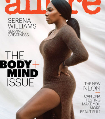 Serena Williams Cover Allure February 2019.  Images by Zhenya and Tanya Posternak.