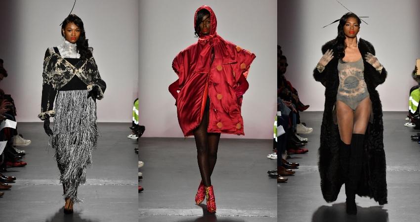 Black Fashion Designers, Black Fashion Models, Romeo Hunte