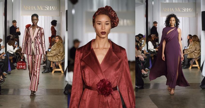 Black Fashion Designers, Black Fashion Models, Aisha McShaw