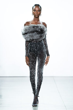 On the Runway. LaQuan Smith Fall 2019.