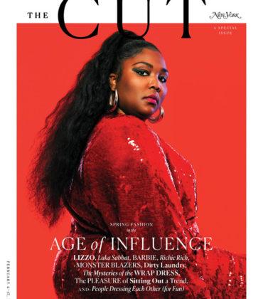 Lizzo Covers New York Magazine.  Images by  Pari Dukovic.