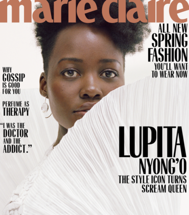 Lupita Nyong'o Covers Marie Claire March 2019.  Images by Daria Kobayashi Ritch.