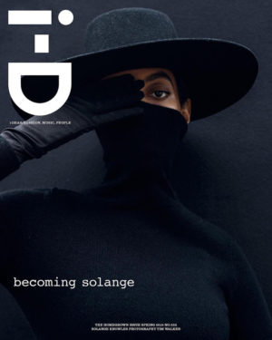 Solange Covers i-D Magazine.
