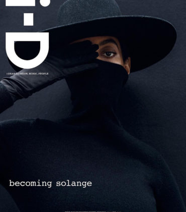 Solange Covers i-D Magazine.