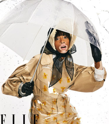 Editorials. Winnie Harlow for ELLE March 2019.  Images by Max Papendieck.
