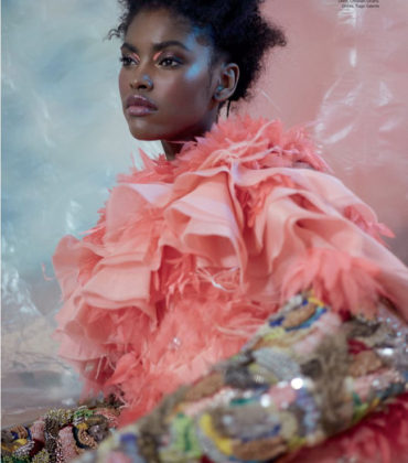Editorials. Amilna Estêvão.  Harper's Bazaar Arabia March 2019.  Images by Greg Swales.