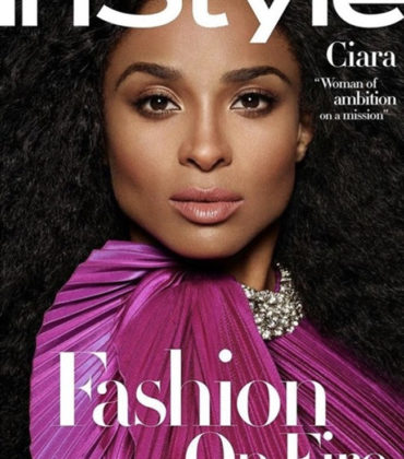Ciara Covers InStyle Magazine April 2019.  Images by Pamela Hanson.