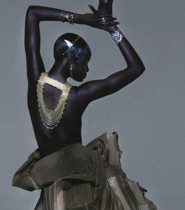 Duckie Thot.  Vogue UK April 2019.  Images by Nick Knight.