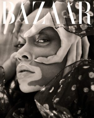 Editorials.  Winnie Harlow.  Harper's Bazaar Taiwan.  Images by Harper Smith.