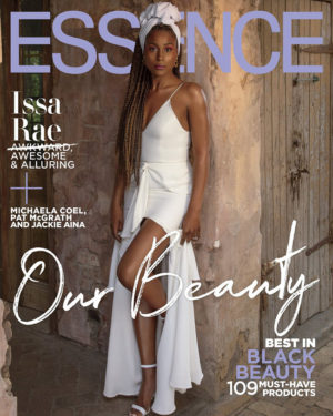 Issa Rae Covers ESSENCE April 2019.  Images by Itaysha Jordan.