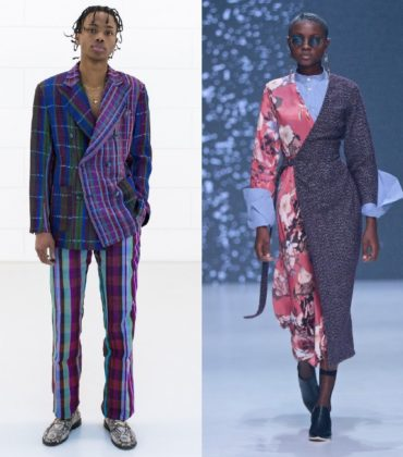 Kenneth Ize and Thebe Magugu Named Finalists for LVMH Prize for Young Designers.