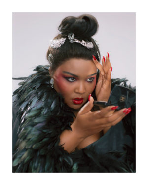 Editorials.  Lizzo for Allure Magazine.  Images by Luke Gilford.