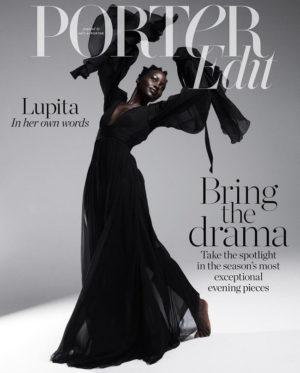 Lupita Nyong'o Covers PORTER Magazine.  Images by Paola Kudacki.