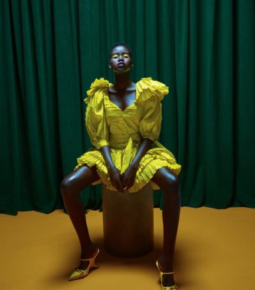 Editorials.  Adut Akech.  Allure May 2019.  Images by Daniel Jackson.