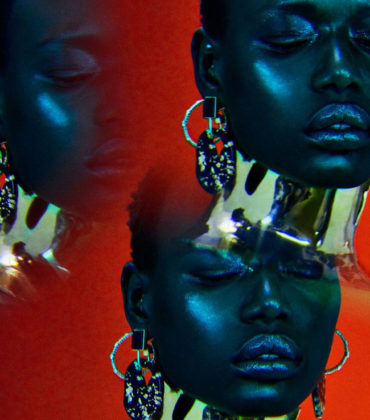 Editorials.  Ajak Deng.  Vogue Portugal April 2019. Images by Jamie Nelson.