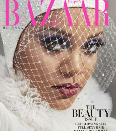 Rihanna Covers Harper's Bazaar May 2019.  Images by Dennis Leupold.