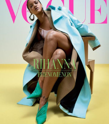Rihanna Covers Vogue Australia May 2019.  Images by Josh Olins.