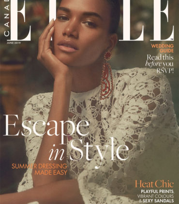 Editorials. Arlenis Sosa.  ELLE Canada June 2019.  Images by Max Abadian.